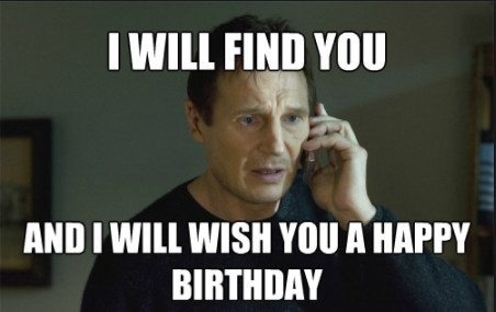 Birthday meme for girl friend