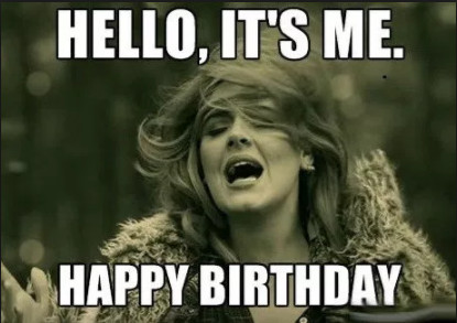 Adele Happy birthday
